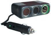 Truckspec TSPTSP-312 Cig Adapter 3way 30cord - Plug Plat.