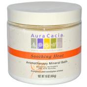 Aura Cacia Warming Balsam Fir Aromatherapy Mineral Bath 16 oz. jar 188524