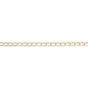 Blue Moon Beads BM61126 Blue Moon Large Wide Cable Chain 80 1/Pkg
