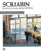 Alfred 00-8049 Etude in D-Sharp minor - Music Book