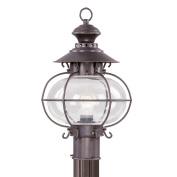 Livex 2224-07 Harbor Outdoor Light- Bronze