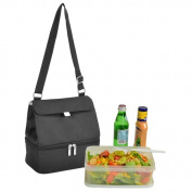 Picnic at Ascot 529-BLK Lunch Cooler - Black
