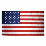 Annin Flagmakers 21200 4 ft. x 6 ft. US Flag - Colonial Nylon-Glo Unfringed