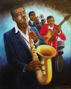 Hot Stuff 1026-24x36-MU The Musicians Poster