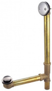 Kingston Brass Dtt2168 Tip Toe Waste And Overflow - Satin Nickel Finish