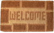 Imports Decor 708TCM Traditional Coir Doormat Welcome