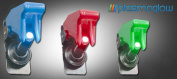 PlasmaGlow 11101 LED Fighter Jet Switch - RED