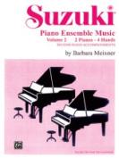 Alfred 00-0751 Suzuki Piano Ensemble Music- Volume 2 for Piano Duo - Music Book
