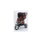 Baby Bling Design Company BBFR333P Metamorphosis All Terrain Jogging Stroller in Fire Tip