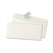 Universal 36002 Pull & Seal Business Envelope- #10- White- 100/Box