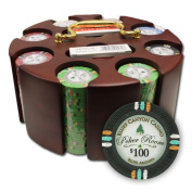 Brybelly Holdings PCS-3301 200Ct Claysmith Gaming Bluff Canyon Chip Set in Carousel