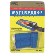 King Safety Products 62310 3 Count Blue Waterproof Wire Connectors