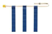 Olympia Sports FB628P Triple Threat Flag Football Belt - Small - Blue