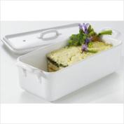 Revol Usa 614862 Belle Cuisine Rectangular Terrine with Lid - White
