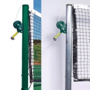 Sports Play 571-106 Official Tennis Posts Pair - Galvanised