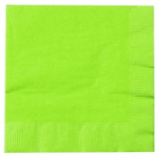 Creative Converting 169377 Fresh Lime- Lime Green Lunch Napkins