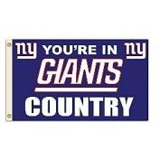 Fremont Die- Inc. 94175B 0.9m x 1.5m Flag W/Grommetts - New York Giants