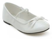 Ellie Shoes 182048 Ballet- White Child Shoes
