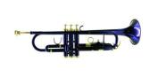 Mirage M40151BL Trumpet B Flat with Case - Blue