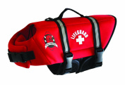 Paws Aboard R1200 Extra Small Neoprene Doggy Life Jacket - Red