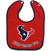 NFL McArthur Houston Texans 2-Tone Snap Baby Bib