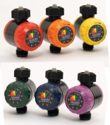 Dramm Corporation 6 Piece Display Assorted Colors Colorstorm Watering Timers 1 - Pack of 6