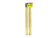 Wooden ruler set - Pack of 24