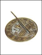 Rome Industries 2329 Brass Thoreau Sundial
