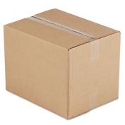 Corrugated Kraft Fixed-Depth Shipping Carton, 12w x 16l x 12h, Brown, 25/Bundle