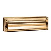 Salsbury Industries 4045B Mail Slot Standard Magazine Size - Brass