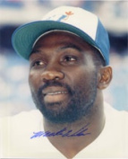 Powers Collectibles 9750 Signed Wilson Mookie 8x10 Photo