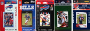 C & I Collectables BILLS5TS NFL Buffalo Bills 5 Different Licenced Trading Card Team Sets