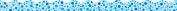 Teachers Friend TF-8263 Blue Polka Dots Scalloped Trimmer