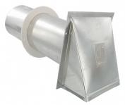 Dundas Jafine Inc. 7.6cm . Vent Hoods Aluminium PVB3EAL