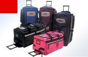 Luggage America SRD-26-RD Sports Plus 26 8 Pocket Rolling Duffel