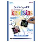 Royal Brush 422175 Rainbow Engraving Art Keychain