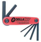 Bondhus 116-12595 3Mm-10Mm Gorilla Grip Fold-Up Set