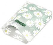Bags & Bows by Deluxe 53-0912-DSY Daisy Frosted High Density Merchandise Bags - Case of 500