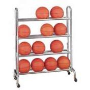Gared Sports BR-16 16 Ball Capacity 4 Tier Ball Rack