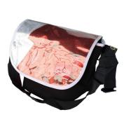 Blancho Bedding MB-JX832-BLACK Fashion Icon - Black Multi-Purposes Messenger Bag / Shoulder Bag
