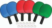 Olympia Sports RA112P 6-Player Table Tennis Set