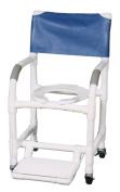 MJM International FF Folding Footrest for Showerchair