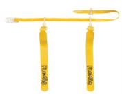 Olympia Sports FB506P 130cm . Sonic Flag-A-Tag Set of 12 - Gold