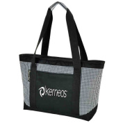 Picnic at Ascot 346-HT Houndstooth Large Insulated Tote -