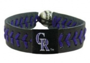 MLB Colorado Rockies Team Colour Gamewear Bracelet