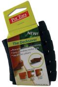 The Plant Stand Plant Hooks, Shelves & Stands 5.7cm . x 13cm . Dark Grey Plastic Pot Toes (6-Pack) PTC-06DGCS