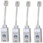 Actiontec Electronics FLTR4DSL02 4 Inline DSL Filters