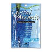 JRM Chemical CA-25S Crystal Accents 1 oz Bag Sapphire Blue