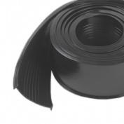 M-d Products 2-.127cm . X 5.49m Black Garage Door Vinyl Bottom Replacement 08462