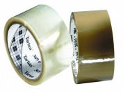 3M Industrial 405-021200-61554 Tartan Box Sealing Tape369 Clear 72Mmx100M